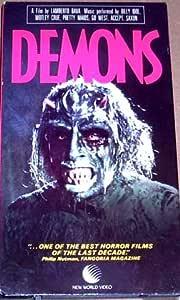 Amazon.com : DEMONS - Rare Horror VHS By LAMBERTO BAVA ...