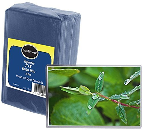 """Photo & Index Card Protective Sleeve Toploader - 3"""" for sale  Delivered anywhere in USA"""