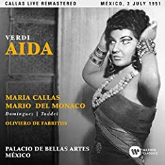 Aidaheld an important place in the earlier years of Callas's career, and in 1950 it brought her debut at La Scala, Milan, the theatre where she soon became reigning diva. That same year, she sang the role of the Ethiopian princess in Mexico C...