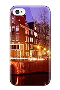 Quality Valerie Lyn Miller Case Cover With Amsterdam City Nice Appearance Compatible With Iphone 4/4s