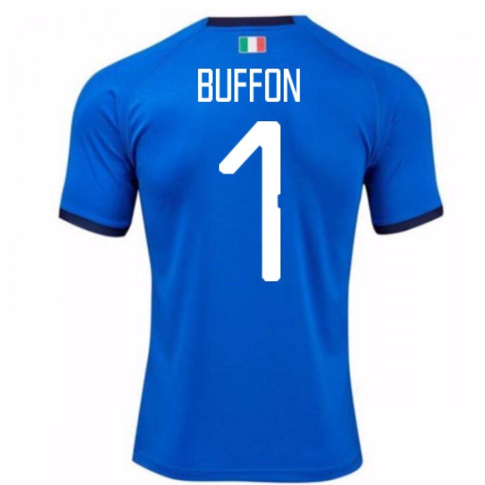 2018-19  Home Football Soccer T-Shirt Trikot (Gianluigi Buffon 1) - Kids