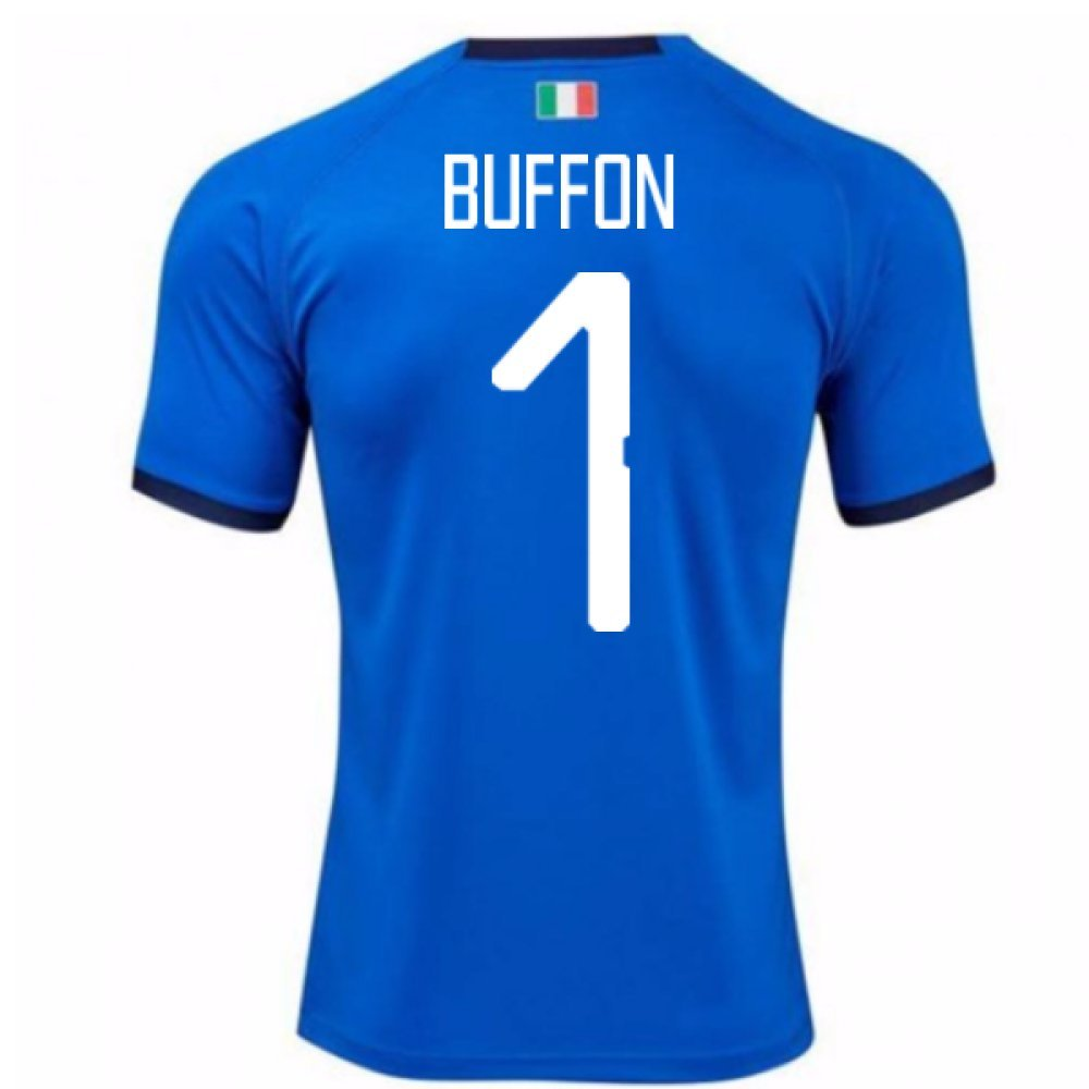 2018-19  Home Football Soccer T-Shirt Trikot (Gianluigi Buffon 1)