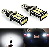 JDM ASTAR 800 lumens Extremely Bright Error Free 921 912 PX Chipsets LED Bulbs For Backup Reverse Lights, Xenon White