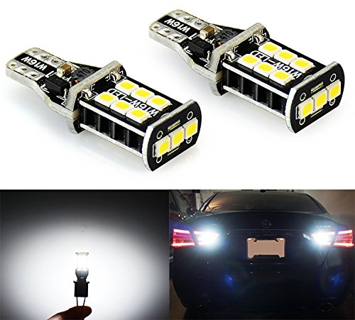 [JDM ASTAR 800 lumens Extremely Bright Error Free 921 912 PX Chipsets LED Bulbs For Backup Reverse Lights, Xenon White] (2006 Fusion)