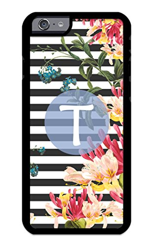 (Custom Phone Cases for iPhone 6s, iPhone 6, iZERCASE [Floral Collection, Amara] Make Your Own Phone Case, Apple iPhone 6, iPhone 6s, Monogram Personalized Case (ICE Blue))
