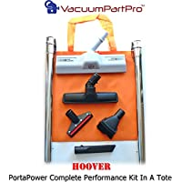 Hoover Portapower CH30000, C2094, S7065 Complete Attachment Kit With Steel Wands.