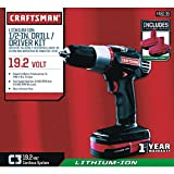 Craftsman C3 Lithium Drill Kit with Batteries Review