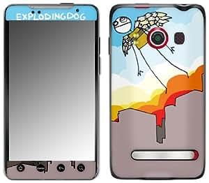Zing Revolution MS-EXDG10132 EXPLODINGDOG - The Flight Cell Phone Cover Skin for HTC Evo 4G