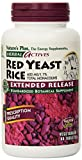 Nature's Plus - Herbal Actives Red Yeast Rice 600 mg Extended Release Tablets, 60 count