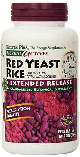 Nature's Plus - Extended Release Red Yeast Rice 600Mg (7361), 60 tablets