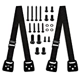 Anti Tip TV Straps - Wall Mount Bookshelf And Furniture Anchors For Baby Proofing. Prevent Accidents - Secure Dresser To Wall Or Use With TV Stands For Flat Screens