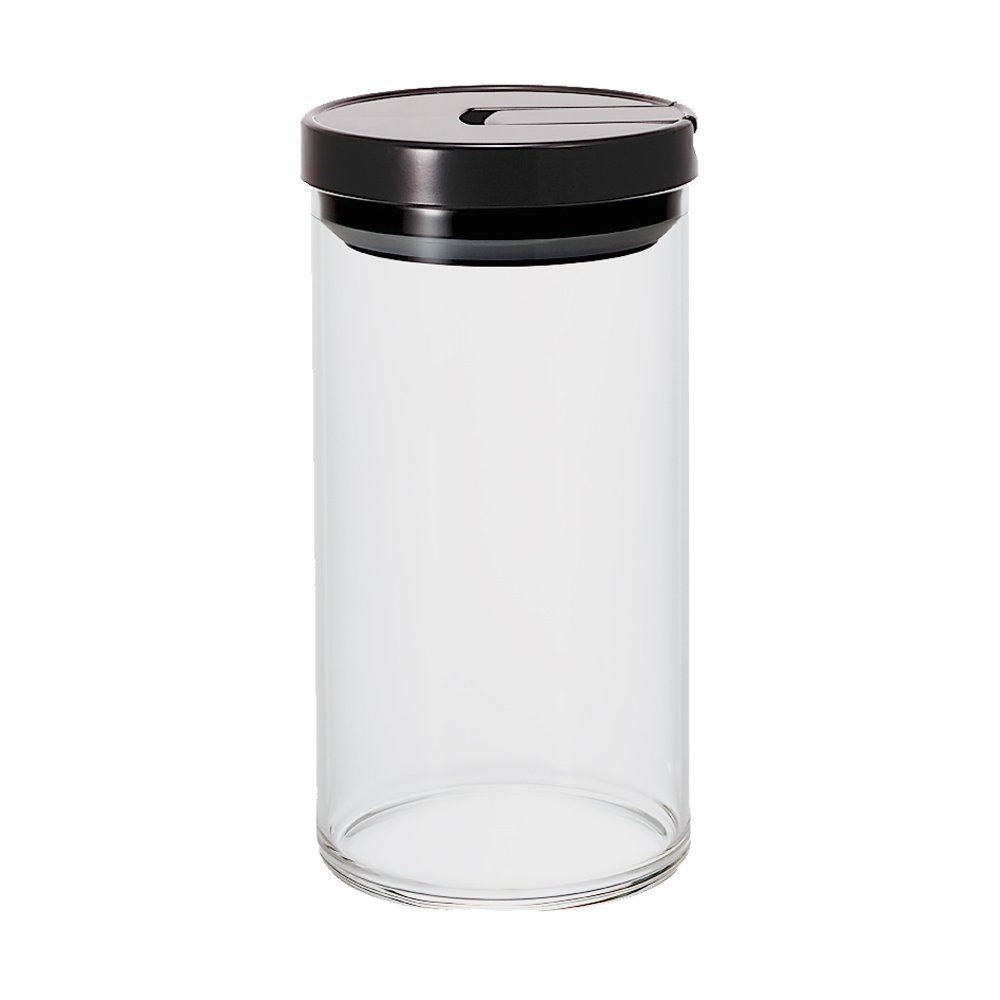 Hario Glass Canister, 800ml Black MCN-200B