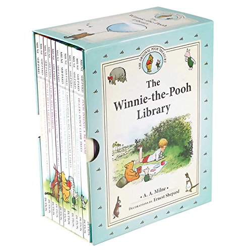 The Winnie the Pooh Library: 12 Book Box Set by A.A. - Set Owl Book Little