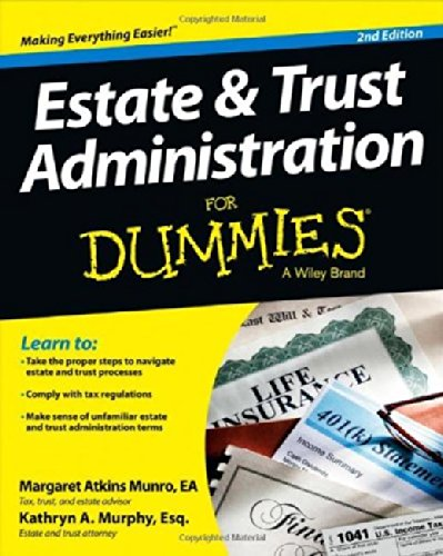 Estate and Trust Administration For Dummies ebook