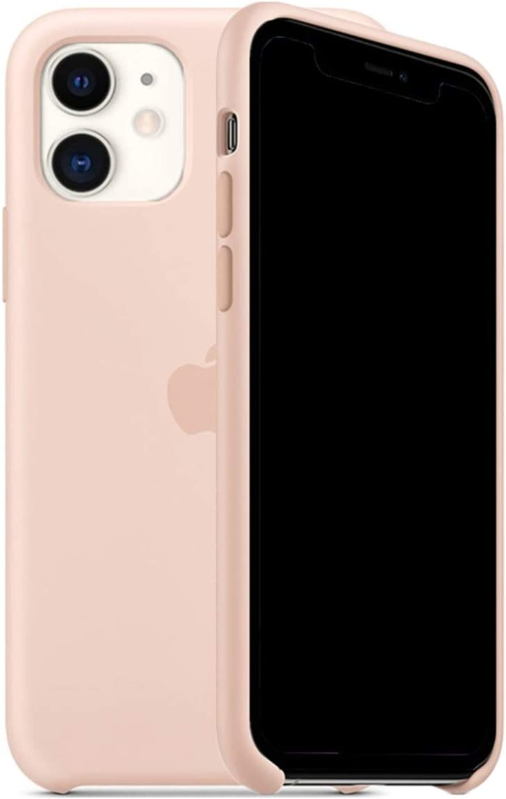 ForH&U Silicone Case Compatible for iPhone 11, Liquid Silicone Non-Slip Case Compatible with iPhone 11-6.1 inch (Pink Sand)