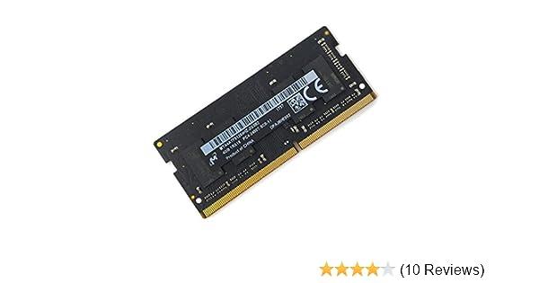 Micron 4GB PC4-19200 DDR4 2400MHz 260-Pin SoDimm Memory Module Mfr P/N MTA4ATF51264HZ-2G3B1