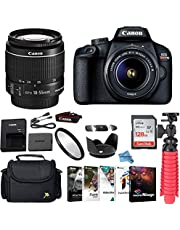 $464 » Canon EOS Rebel T100 DSLR Camera Bundle with Canon EF-S 18-55mm f/3.5-5.6 is II Lens + Gadget Case + 128GB Sandisk Memory Card + Photo Software Suite + Accessory Kit + Inspire Digital Cloth.