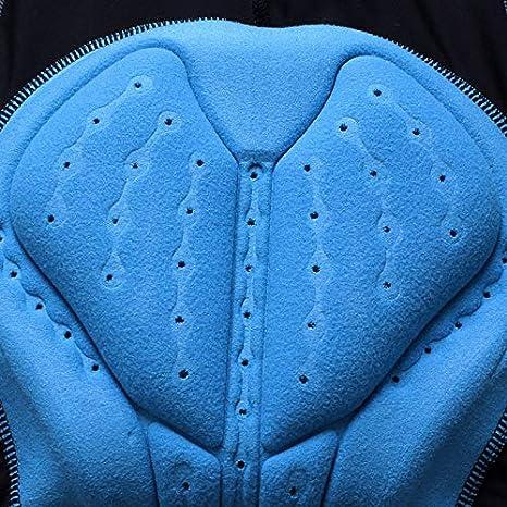 ad Asciugatura Rapida Youngshion Sportivi a Compressione Elastica Imbottiti in 3D Pantaloni Corti da Ciclismo da Uomo