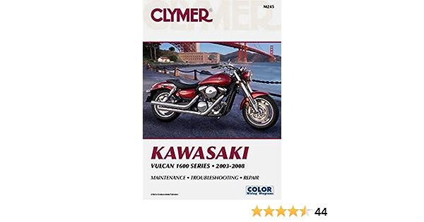 Clymer Kawasaki Vulcan 1600 Series: Amazon.es: Clymer Staff ...