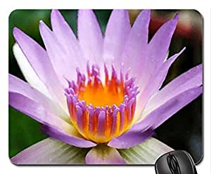 Flower Mouse Pad, Mousepad (Flowers Mouse Pad, 10.2 x 8.3 x 0.12 inches)