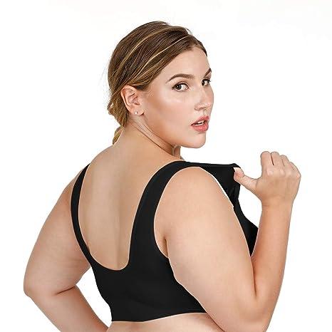 3945c259d5 SIHOHAN Women s Sports Bras - - XXX-Large 42B 42C 42D 42E 42F   Amazon.co.uk  Clothing