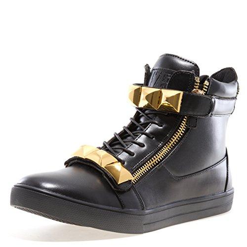 Jump J75 Men's Zest High-Top Fashion Sneaker Black 9 D US by Jump