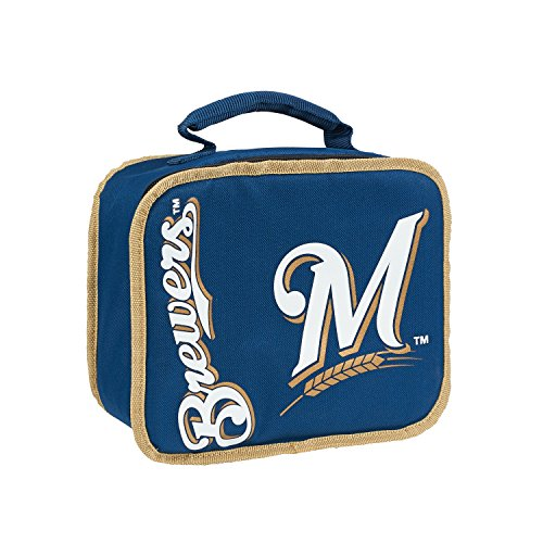 The Northwest Company MLB Milwaukee Brewers Sacked Lunchbox, 10.5-Inch, Royal