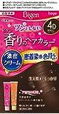 ホーユー ビゲン香りのヘアカラークリーム4D (落ち着いたライトブラウン)1剤40g+2剤40g