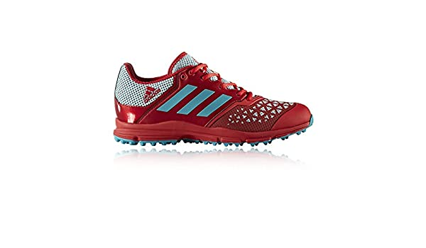 adidas Men's Zone DOX Scarlet Aqua Hockey Shoes SS18, Blue