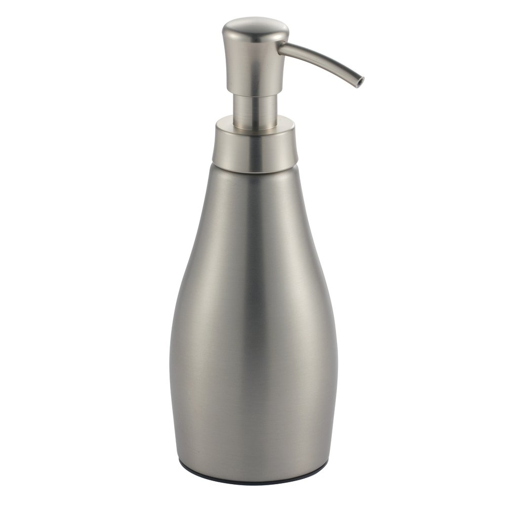 the pump is grease free rust free and the whole soap dispenser is made up of stainless steel which is further brushed to achieve a shiny look - Bathroom Soap Dispenser