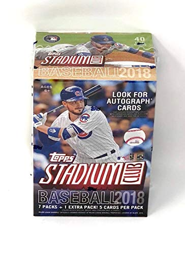 Large Product Image of Topps 2018 Stadium Club Retail Blaster Box (8 Packs/5 Cards)