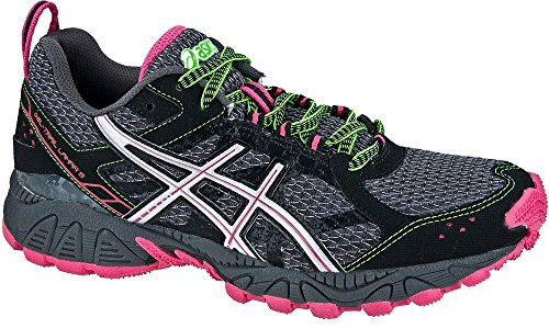 asics-gel-trail-lahar-5-outdoor-running-shoes-black-gray-pink-green-eu-shoe-sizeeur-395-colorblack