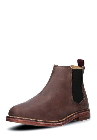 318e98b162cd9a Ben Sherman Herren Chelsea-Boots Deon Leder braun  Amazon.de  Schuhe    Handtaschen