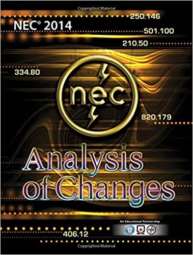 Analysis of changes 2014 nec international association of analysis of changes 2014 nec international association of electrical inspectors david clements kathryn p ingley l keith lofland 9781890659646 fandeluxe Gallery