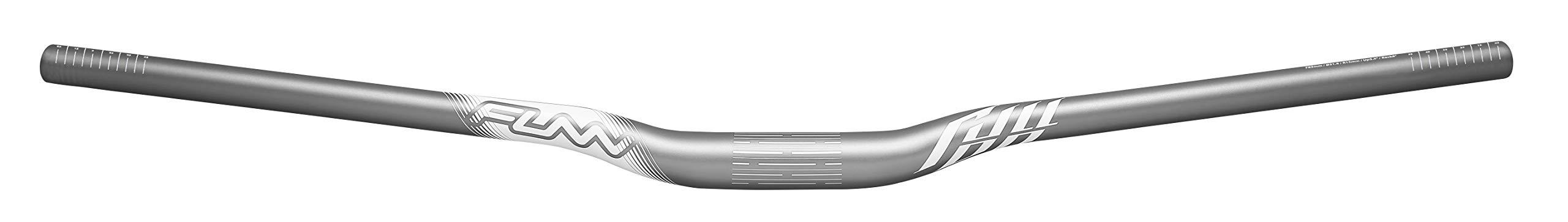 Full On MTB Handlebar, Bar Clamp 31.8mm, Width 785mm (Rise 15mm, Gray) by Funn