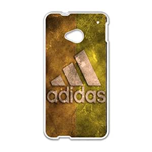 Adidas Logo 002 HTC One M7 Cell Phone Case White Protective Cover