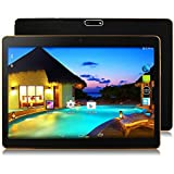"10.1"" Inch Android 7.0 Tablet PC, 2GB RAM 32GB Storage Phablet Tablet Octa Core Unlocked 3G Cell Phone Tablets, Dual Sim Card Slots, WiFi, GPS, Bluetooth 4.0,1920x1080 HD IPS Screen Display, (Black)"