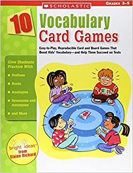 10 Vocabulary Card Games: Easy-to-play, Reproducible Card And Board Games That Boost Kids' Vocabulary-and Help Them Succeed On Tests Descargar Epub Gratis