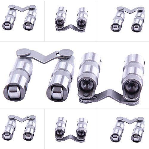 (maXpeedingrods Hydraulic Roller Lifters for Dodge Chrysler Small Block V8 273 318 340 360)