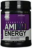 optimum nutrition energy - OPTIMUM NUTRITION ESSENTIAL AMINO ENERGY with Green Tea and Green Coffee Extract, Flavor: Concord Grape, 65 Servings