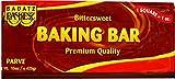 Paskesz Rose Of Galilee Baking Bar Bitter Sweet 15 Oz. Pack Of 3.