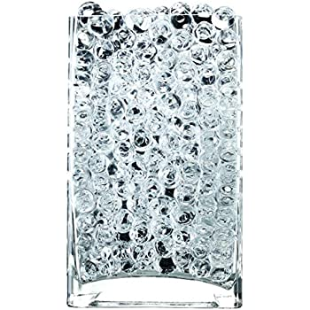 NOTCHIS Upgraded 20,000 Vase Fillers Clear Water Beads, Floral Beads Gel Water Bead, Clear Water Pearls Vase Filler Bead for Wedding Centerpiece Decoration and Furniture Decorative