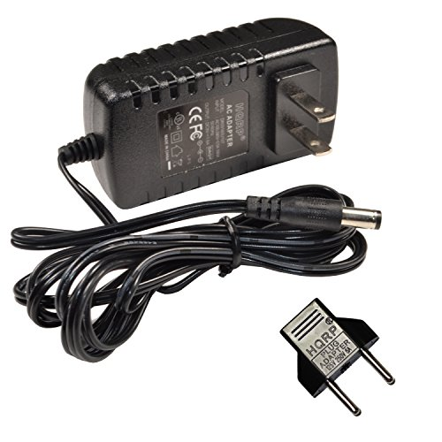 HQRP 9V AC Adapter for Viper 42-9993 fits Viper X-Treme, Viper Solar Blast, Viper Eclipse Dartboard Power Supply Cord + Euro Plug Adapter