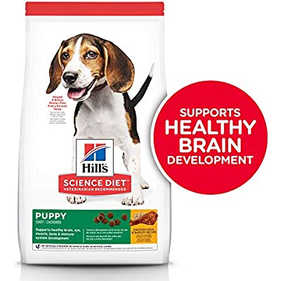Hill's Science Diet Dry Dog Food, Puppy, Chicken Meal & Barley Recipe