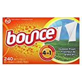 Tools & Hardware : Bounce Outdoor Fresh Dryer Sheets and Fabric Softener, 240 Count