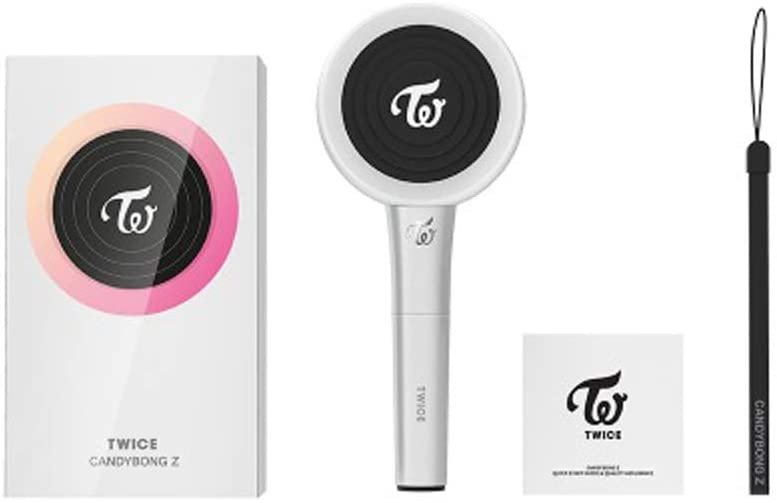 Twice Official Light Stick Z (Candy Bong Z) with one Random Acrylic Photocard (Fancy You Concept)