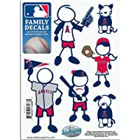 MLB Los Angeles Angels Small Family Decal Set