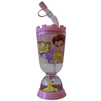 c38ccb329cb Amazon.com : Princess Belle Tumbler With Snow Globe - Disney ...