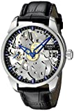 Tissot Men's T0704051641100 T-Complication Squelette Analog Display Swiss Mechanical Hand Wind Brushed Stainless Steel watch