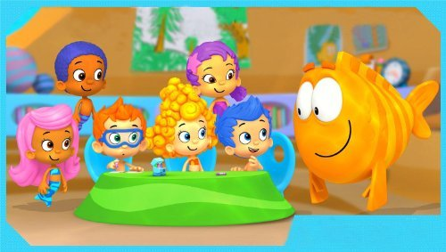 Bubble Guppies 2 Cake Toppers Frosting Sheets Edible Image]()